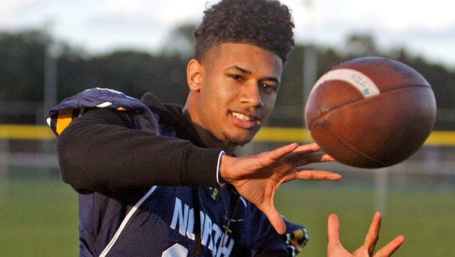 Bryce Watts of Toms River North earned the Asbury Park Press Offensive Game Ball of Week 7.
