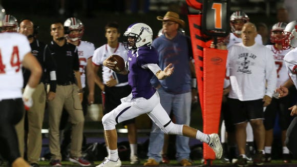 John Jay defeated Somers 21-7 in football action at