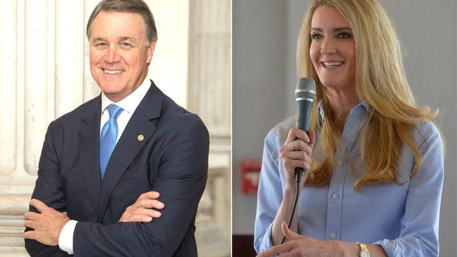 Incumbent David Perdue and appointee Kelly Loeffler, both Republicans, are running to keep their seats.