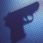 A file photo of a handgun. A report released by the Nevada Network Against Domestic Abuse and Everytown for Gun Safety Support Fund found that 46 homicides against women involved guns and were committed by intimate partners.