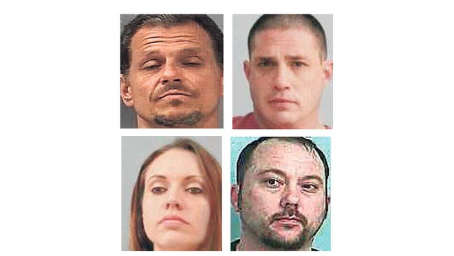 Kenneth Friend, Anthony VanPelt, Melody Carpenter, Eric McClanahan