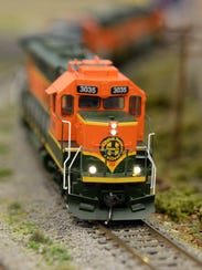 The Patcong Valley Model Railroad Club, Route 40 and