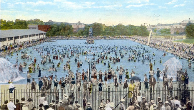 Picture perfect postcards tell us a lot about our past. Here, we learn how many York countians cooled off about a century ago. This 1924 postcard depicts the former Farquhar Park Pool, or Boys' Club Pool, in York. Check out this gallery of colorful postcard scenes from way back!