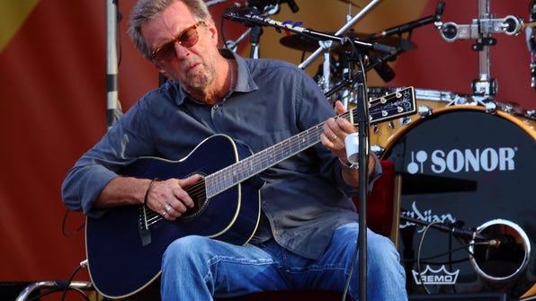 Eric Clapton, 2014 New Orleans Jazz Festival