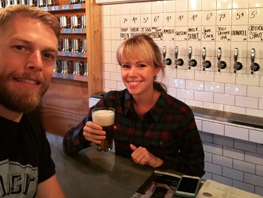 Jason Caya, 32, and Janet Van De Winkle, 28, are co-owners