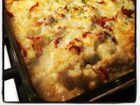 Loaded cauliflower casserole tastes like potatoes