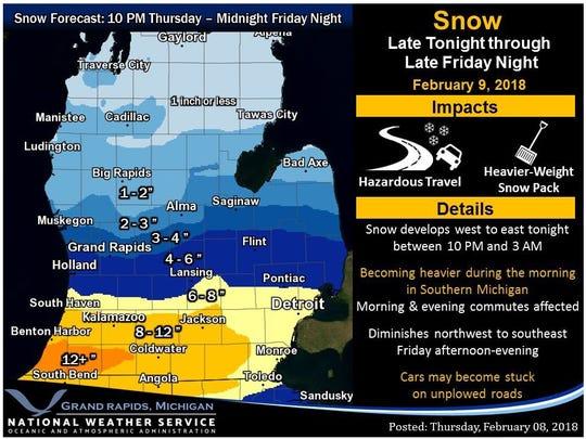 Metro Detroit Traffic Map.Snow In Michigan Live Metro Detroit Weather And Traffic Updates