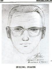 Police sketch of Zodiac. case closed.