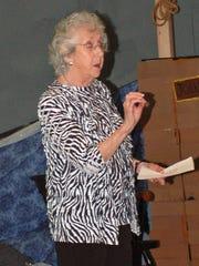 Holocaust survivor Maud Dahme spoke at The Pennington School on May 11.