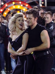 """Aaron Tveit starred as Danny Zuko in NBC's broadcast of """"Grease Live!"""""""