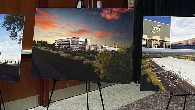 Conceptual drawings show TTI's plans for its campus off Interstate 85 in Anderson County.