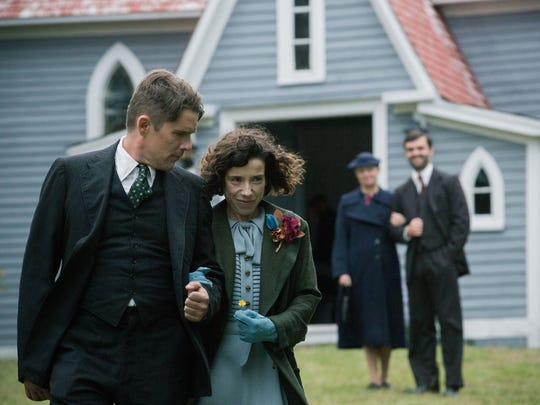 "Ethan Hawke and Sally Hawkins star in ""Maudie."" The"