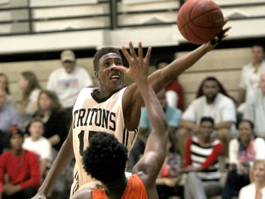Mariner senior Amari Haynes is one of the key players as the Tritons enter the 44th annual City of Palms Classic.