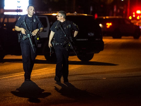 Police on scene of reported shots fired on High Street
