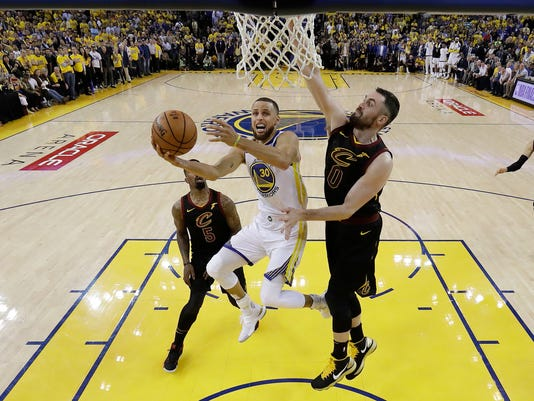 Stephen Curry, Kevin Love