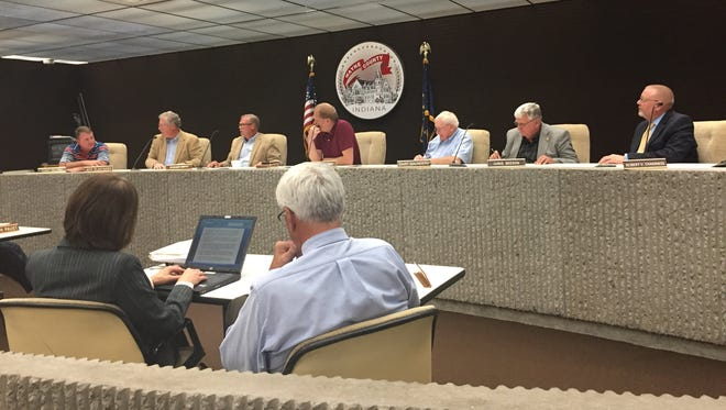 Members of the Wayne County Council met Wednesday, Oct. 19, 2016
