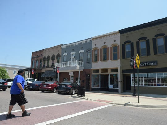 Downtown Brownsville's square has a vibrant business