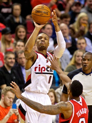 Damian Lillard had 12 points and six assists for the Blazers.