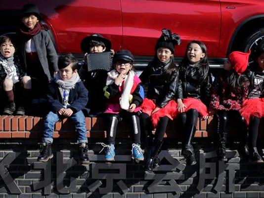 APTOPIX China One Child Policy