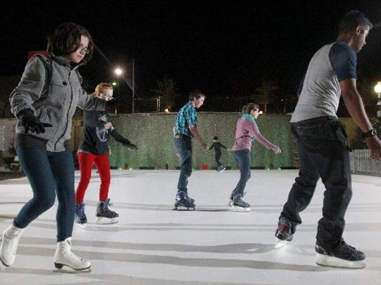 Skaters will take to Carolina Wren Park in downtown Anderson for the next couple months.