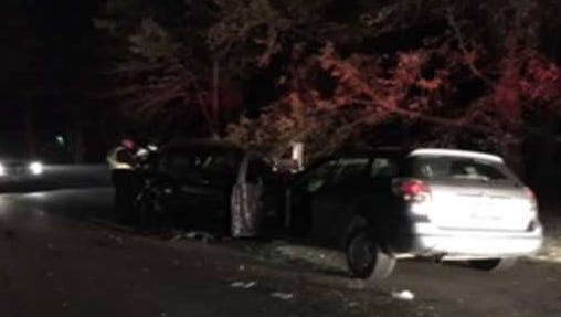 One man was killed in this early Wednesday crash in Clermont County.
