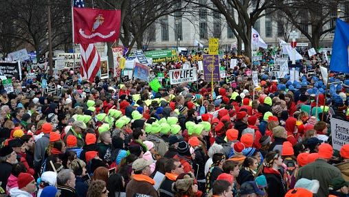 March For Life Rally In Washington DC