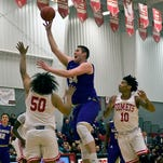 Ryan Lowe elevating his game for Albion College basketball
