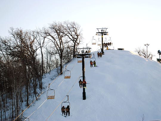 The Mountain Top, at Lake Geneva's Grand Geneva Resort & Spa, has plenty of beginner and moderate slopes to help learners get moving.