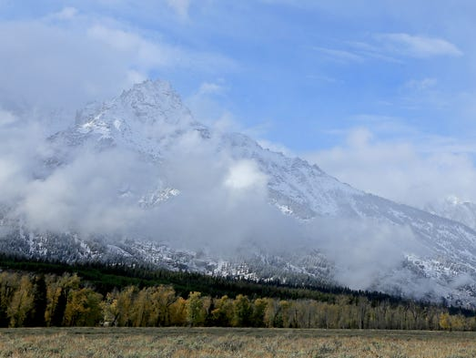 Wyoming's Grand Teton National Park.