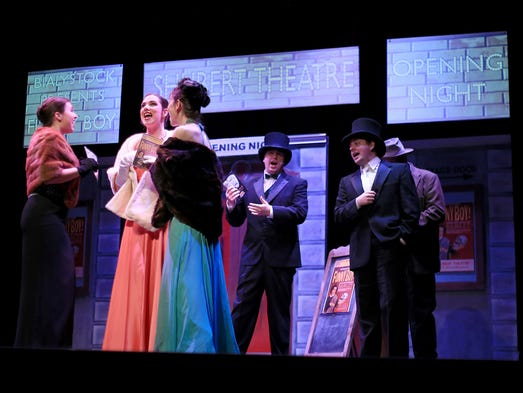 39 the producers 39 is a professional hilarious romp for 13 a table theatre saint georges