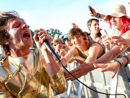 Cage the Elephant at the Bonnaroo Music  & Arts Festival