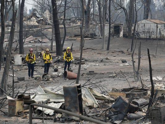 AP CALIFORNIA WILDFIRES A USA CA