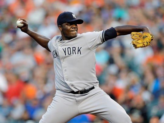 Yankees Orioles Baseball (2)