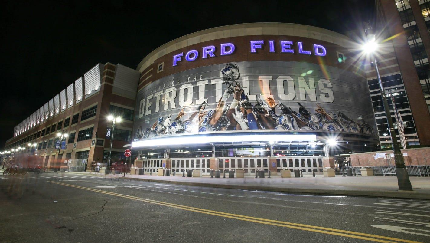 Ford Field Shows Off Massive Corner Bar New Slow S Bar Bq
