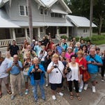 News-Press readers take part in a private tour of the Edison Ford Winter Estates during a photo walk led by News-Press photographers Sarah Coward and Andrew West on Thursday.