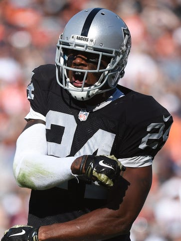 DB Charles Woodson has spent 11 of his 17 NFL seasons