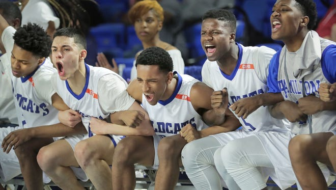 Hamilton rallied from an eight-point deficit midway through the fourth quarter to defeat Knoxville Fulton, 60-58, and win the Class AA state title Saturday.