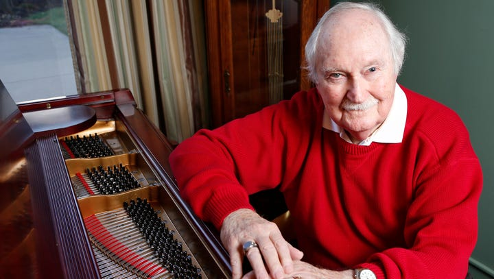 Dick Jaeger, Lafayette Jeff's legendary music man, leaves legacy of song