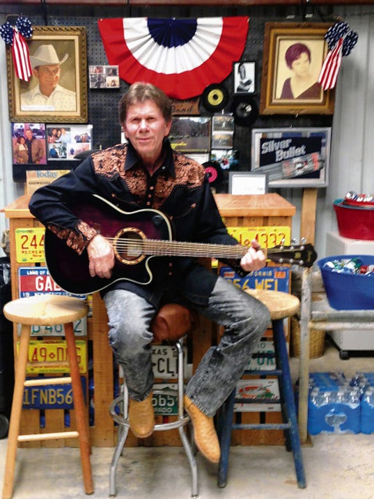 Terry Bullard, who penned 'Amarillo by Morning,' recently opened Bullets Dance Hall in Capitan. Bullard and band perform every Friday and Saturday night from 8 to 11 p.m.