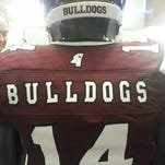 Mississippi State's 2013 Egg Bowl jerseys would be legal this year.