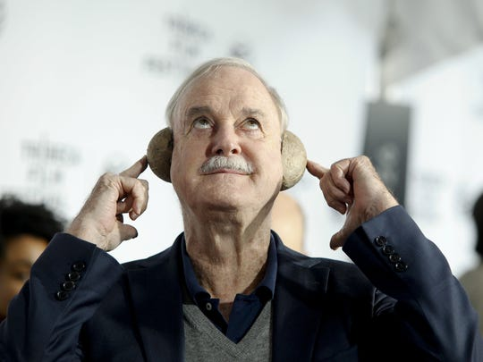 John Cleese of Monty Python, pictured attending a special