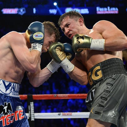 Golovkin-Alvarez rematch site same as first fight: T-Mobile Arena in Las Vegas on May 5