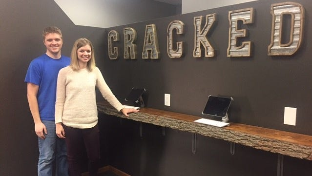 Paul and Adria Smith are opening Wausau's first escape room, Cracked, in March.