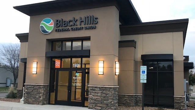 The new Black Hills Federal Credit Union location in Sioux Falls, at 1901 W. 41st St.