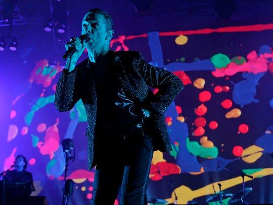 Depeche Mode perform during their Global Spirit Tour