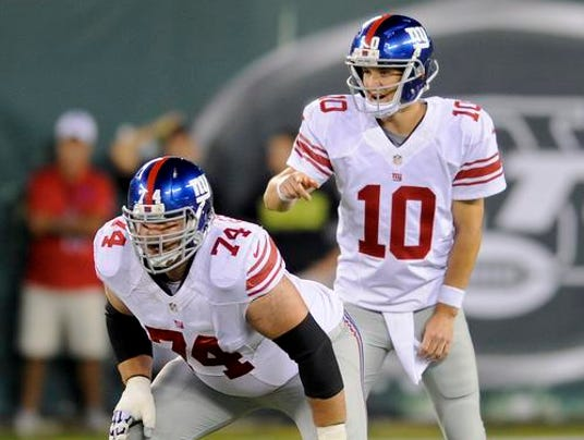 Giants Schwartz and Eli