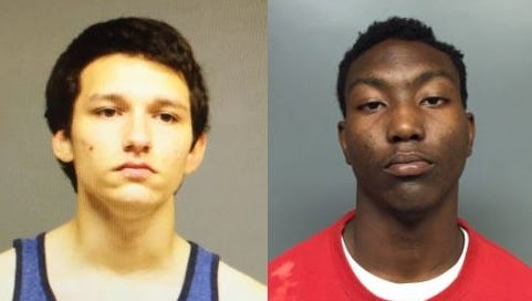 Adam Maxwell Enriquez, 17, and Sa'Darious Dewayne Hamilton, 17, were arrested on multiple burglary charges.