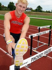 Pinckney's Brandon Wiese was a Lakes Conference champion,