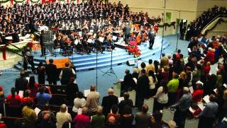 USM's Symphony Orchestra will present its annual Holiday Choral Spectacular Dec. 2, 4.