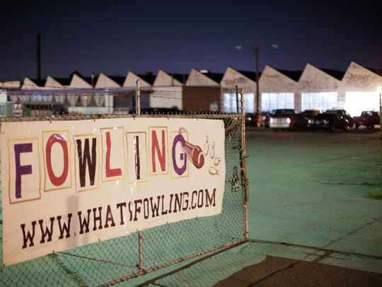 The Fowling Warehouse in Hamtramck is seen on Friday,